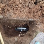 wall anchor plate in soil